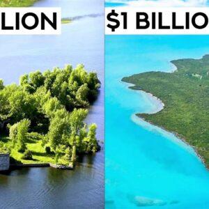 $1 Million VS $1 Billion Private Islands