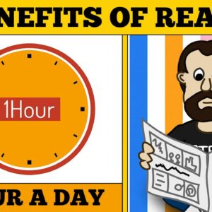 10 Benefits of Reading 1 HOUR a DAY