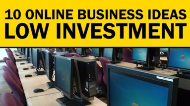 10 ONLINE Business Ideas with LOW or NO INVESTMENT in 2021