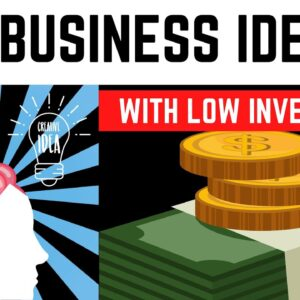 20 Profitable Business Ideas with Low Investment in 2021