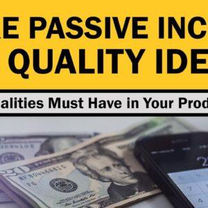 20 Things You Need to Make Passive Income