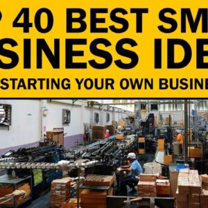 40 Best Small Business Ideas for Your Startup in 2021