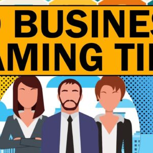 50 Business Naming Tips to Create a Great Brand Name