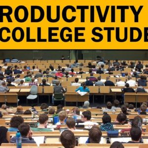 70 PRODUCTIVITY TIPS FOR COLLEGE STUDENTS