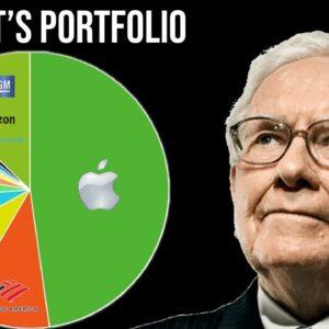 A Breakdown Of Warren Buffett's 2021 Portfolio