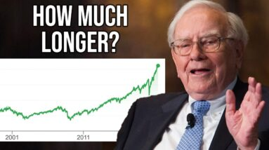 Buffett: How Long Can Stocks Stay Overpriced (Before A Crash)