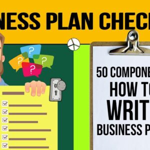 Business Plan Checklist to Write a Business Plan for Your Business