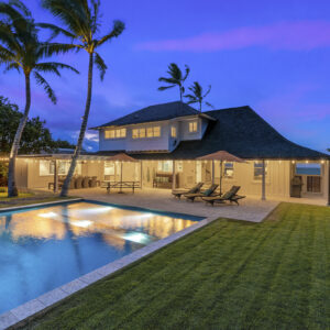 designer restored kailua beach house