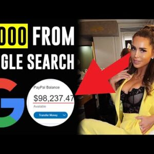 EARN $1000 FROM GOOGLE SEARCH Step-by-Step | Make Money Online 2021
