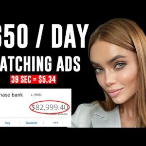 Earn $650 Watching ADS Anywhere In The World | Make Money Online 2021