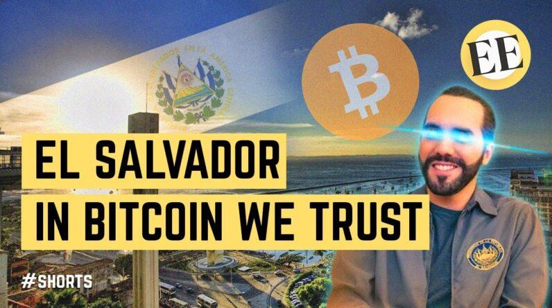 El Salvador Just Made BITCOIN Its National Currency? #shorts