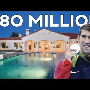 How Michael Phelps Spends $80 Million Dollars