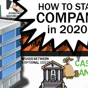 How to Start a Company in 2020 - NEW YEAR Business Plan