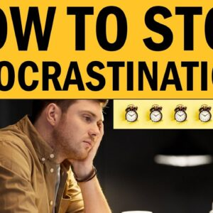 How To STOP Procrastination & Get Things Done FAST