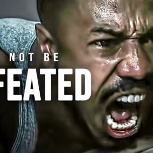 I WILL NOT BE DEFEATED - Powerful Motivational Speech