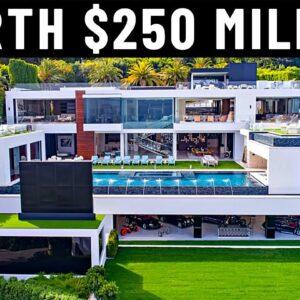 Inside A Billionaire's $250 Million Mansion
