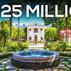 Inside Bel Air's Most Expensive Mega Mansion