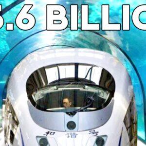 Inside China's $3.6 Billion Underwater Vacuum Train