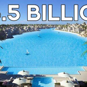 Inside Egypt's $5.5 Billion Dollar Swimming Pool