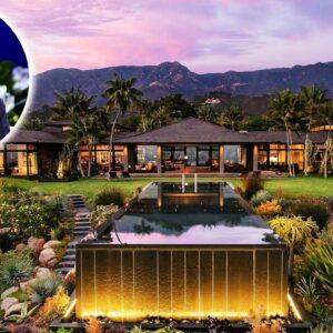 Inside Ellen Degeneres' $27 Million Montecito Mansion