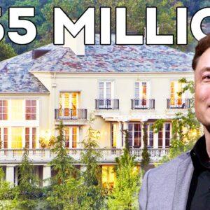 Inside Elon Musk's $35 Million Mansion