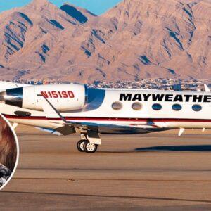Inside Floyd Mayweather's Custom $60 Million Private Jet