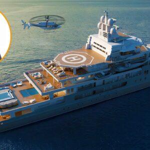 Inside Mark Zuckerberg's $195 Million Ulysses Mega Yacht