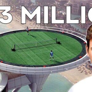 Inside Roger Federer's $23 Million Dollar Dubai Penthouse