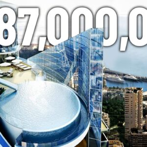 Inside The $387M Monaco Penthouse