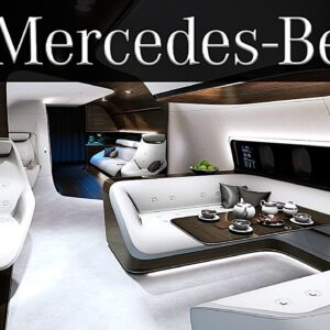 Inside The Mercedes Benz Private Jet