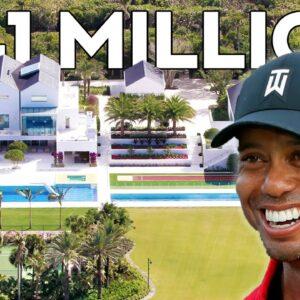 Inside Tiger Woods' $41 Million Mansion