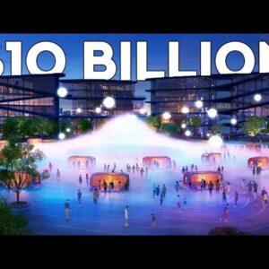 Japan's $10 Billion Dollar Smart City Of The Future