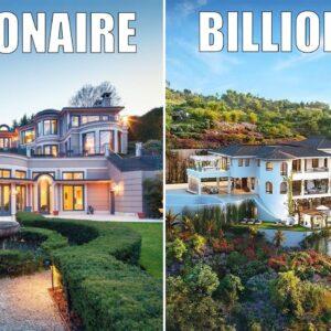 Millionaire Vs Billionaire Mansions