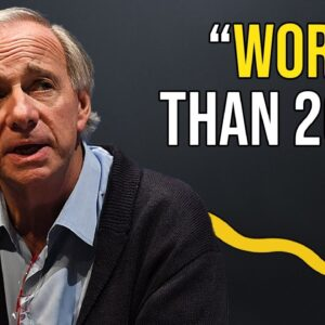 Ray Dalio Explains Why 2021's Economy Is Worse Than 2008