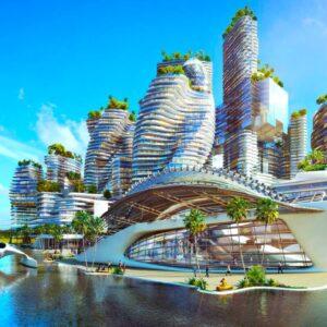 Saudi Arabia's $500 Billion Future Mega City