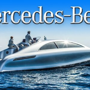 The $1.7 Million Mercedes-Benz Yacht