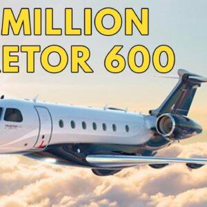 The $21 Million Embraer Praetor 600 Business Jet | Full Tour by Embraer