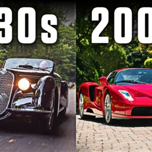The Most Expensive Car Of Every Decade