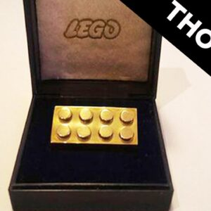 The Most Expensive LEGO In The World Is Made Of Gold #shorts
