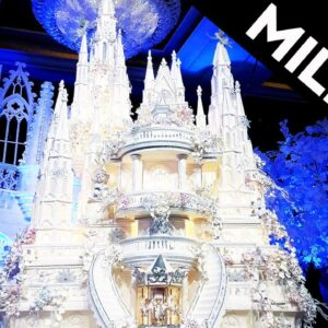 The World's Most Expensive Cake weighs 1000 lbs! #shorts