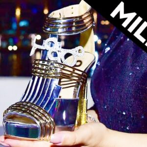 These $20 Million Dollar Shoes Are Made Of Meteorites #shorts