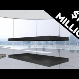 This Floating Bed Is The World's Most Expensive Bed #shorts