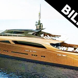 This Yacht Made Of Gold Is The Most Expensive In The World #shorts