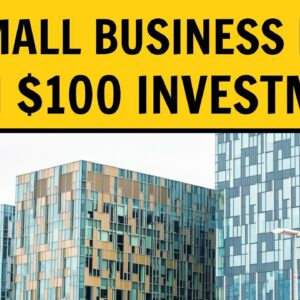 Top 10 Small Business Ideas With $100 Investment in 2021