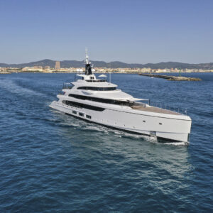 benetti delivers m y triumph a 65 meter full custom yacht