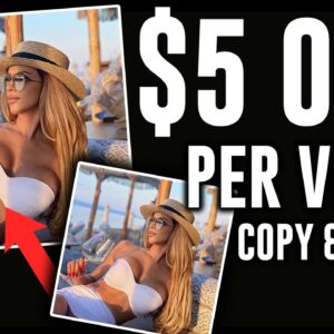 Easiest Way Earn $5000 Copy And Pasting Photos (Make Money Online 2021)