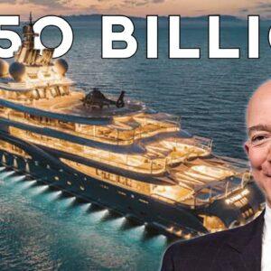 How Jeff Bezos Spends $205 Billion Dollars
