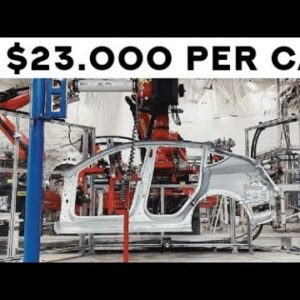 How The Giga Press Is Making Tesla More Money