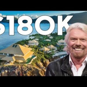 Richard Branson Transformed His Private Island Into An Expensive Resort