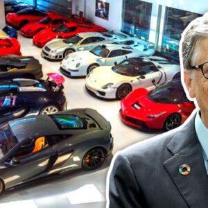 Inside Bill Gates' Insane Car Collection